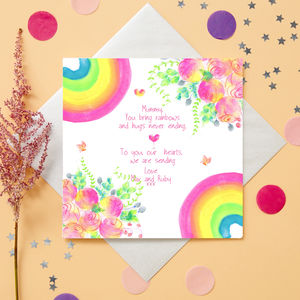 Mothers Day Personalised Card