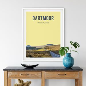 Dartmoor National Park, Fine Art Print