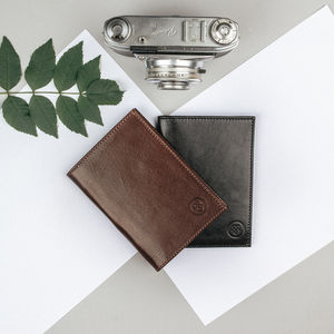 Handmade Luxury Leather Wallet. 'The Salerno' - wallets