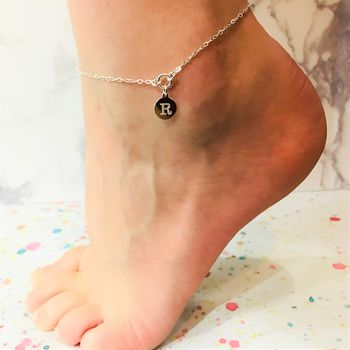 Initial Personalised Anklet