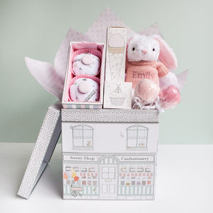Baby Girl Sweet Treats Hamper, Pink