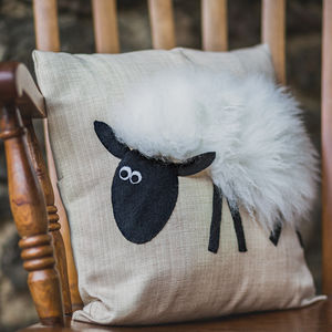 Sheep Cushion - decorative accessories