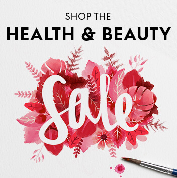 shop health and beauty sale