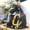 Personalised Giant Initial Christmas Santa Sack