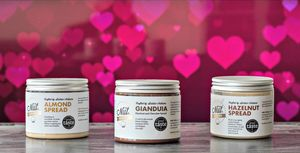 'Spread The Love' Gift Box Of Sicilian Nut Spreads
