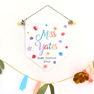 Best Teacher Ever Wall Hanging Gift - home accessories