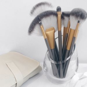 18pc Champagne Makeup Brush Set