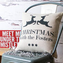 Christmas Family Cushion Cover
