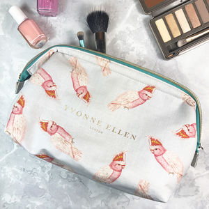 Parrots Make Up Bag