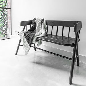 Teak Indoor Wooden Bench Seat