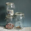 Personalised Bits And Bobs Glass Preserving Storage Jar