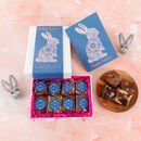 Easter Bunny Luxury Brownie Gift