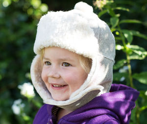 Sheepskin Hat For Babies And Children