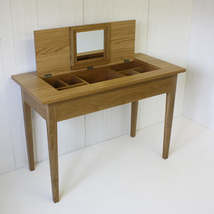 Oak Dressing Table - dressing tables