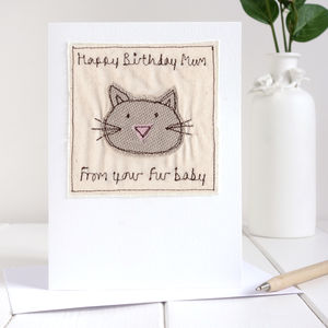 Personalised Cat Birthday Card - general birthday cards