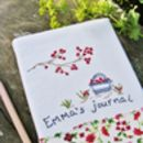 Personalised Journal Notebook Reusable Cover