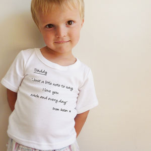 Daddy 'I Love You' Rhyme - clothing