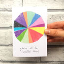 You're All The Colours Card