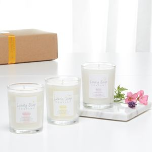 Aromatherapy Candles Gift Set - candles & candle holders