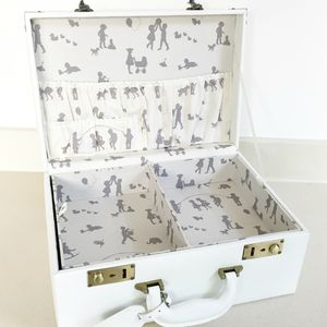 Personalised Memory Suitcase Keepsake Box Gift Set - personalised wedding gifts