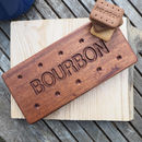 Personalised Bourbon Biscuit Wooden Coaster