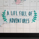 A Life Full Of Adventures Travel Map