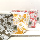 Daisy Make Up Bag