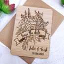 Bouquet Save The Date Magnet