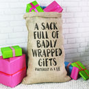 Christmas Sack For Adults Pinterest Is A Lie