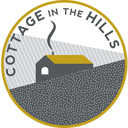 Cottage in the Hills House on a Heart Hill logo