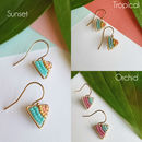 Tropical summer jewellery set