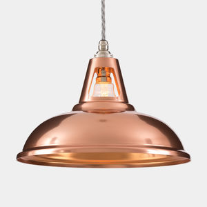 Coolicon Industrial Copper Pendant Light - ceiling lights