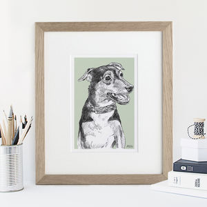 Personalised Pet Portrait - gifts for families