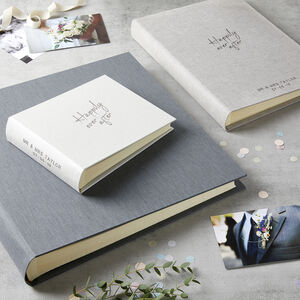 Personalised Happily Ever After Wedding Photo Album