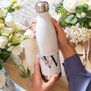 Future Mrs Large Initial Water Bottle