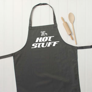 Mr Hot Stuff Valentines Apron
