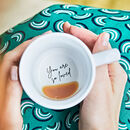 'You Are So Loved' Hidden Message Mug