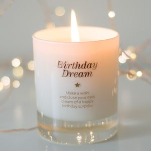 Birthday Dream Scented Candle - candles & home fragrance