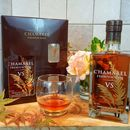 Chamarel Premium Vs Rum Inc Two Branded Glasses