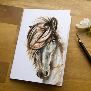 Inky Horse Notebook