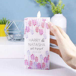 Engagement LED Wax Square Candle
