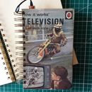 'Television' Upcycled Notebook