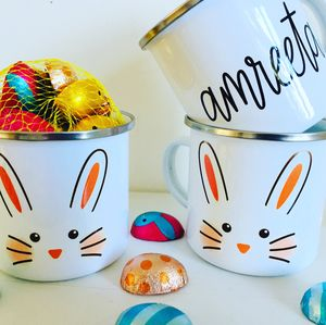 Easter Mug With Chocolate Eggs