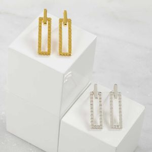 Gold Geometric Earrings - earrings