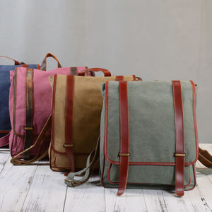 Canvas Backpack By Eazo - sale