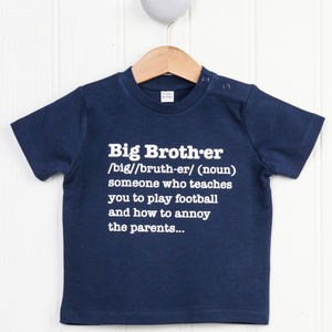 Big Brother Definition T Shirt - clothing