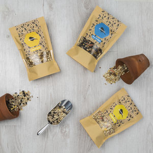 Summer Bird Seed Gift Box - food, feeding & treats