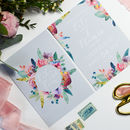 Pastel Floral Wedding Invitations