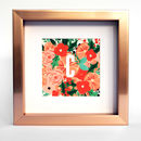 'C' Is For Christmas Personalised Framed Print