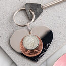 Mummy And Me Heart Keyring